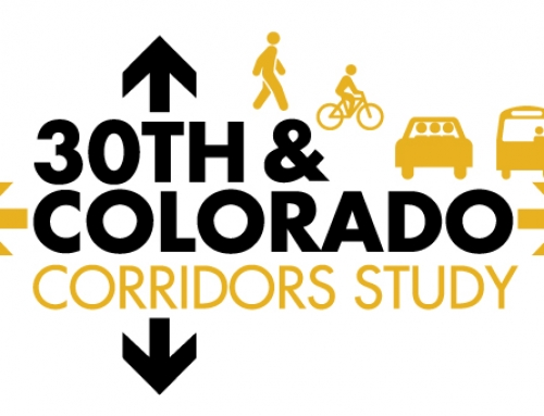 30th and Colorado Corridors Study Open House