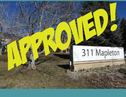 311 Mapleton Approved: A Telling 5-4 Council Vote