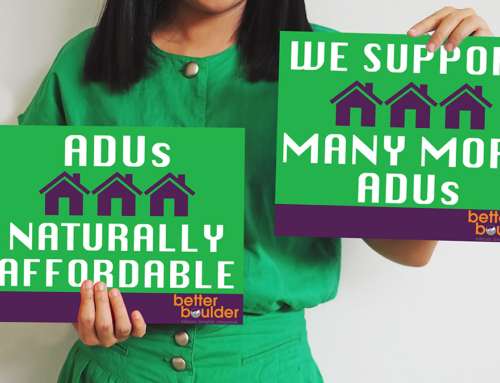 Show your Support for ADUs in Boulder!