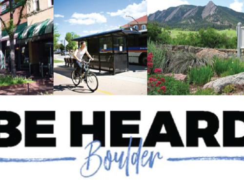 Be Heard Boulder!
