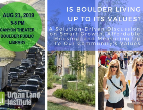 ULI Colorado: Is Boulder living up to its values?